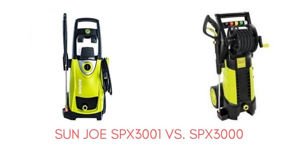 Sun Joe SPX3001 Vs. SPX3000